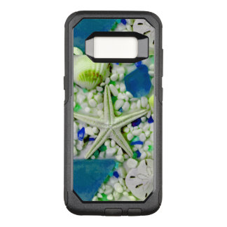 Beach Sea Life Design OtterBox Commuter Samsung Galaxy S8 Case