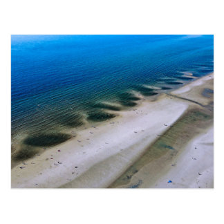 Beach & sea | postcard aerial photograph Fotogr