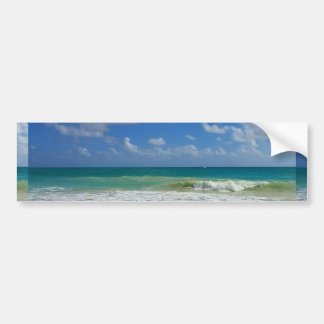 Beach Sea Seasalt Bumper Sticker