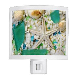 Beach Sea Shell Night Light
