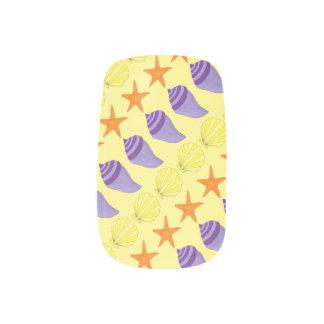 Beach Sea Shell Seashell Shell Starfish Nail Art
