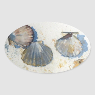 Beach Sea Shell Stickers