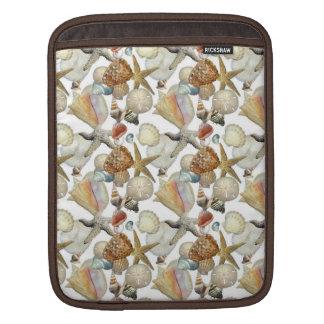Beach Sea Shells Sleeves For iPads
