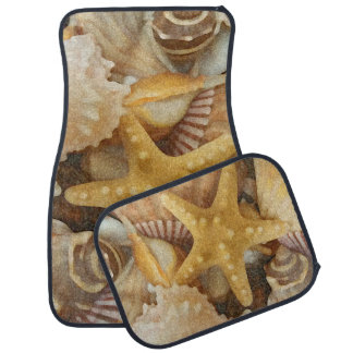 Beach Seashells Theme Car Mat