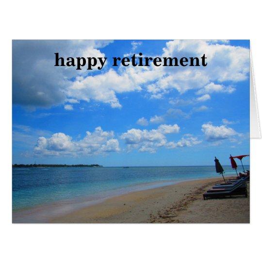 beach seats retirement big card