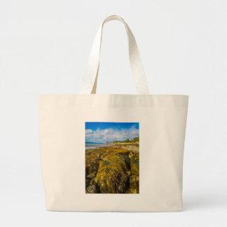 Beach Seaweed Large Tote Bag