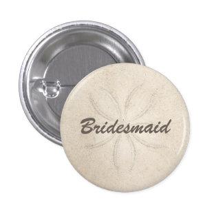 Beach Serenity Bridesmaid Button