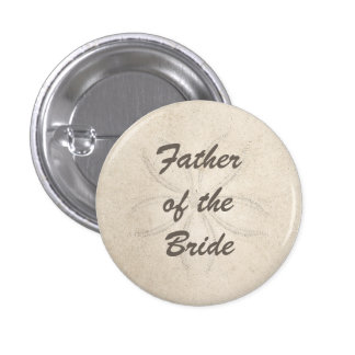 Beach Serenity Father of the Bride Button