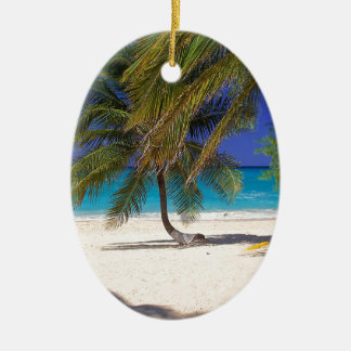 Beach Seven Mile Grand Cayman Ceramic Ornament