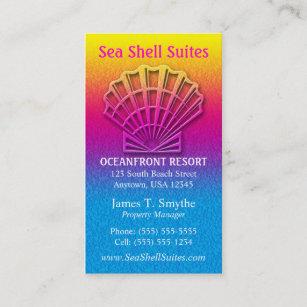 Shells business cards profile cards zazzle ca beach shell business card colourmoves