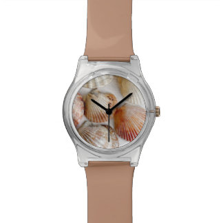 Beach Shells Artsy Wristwatch