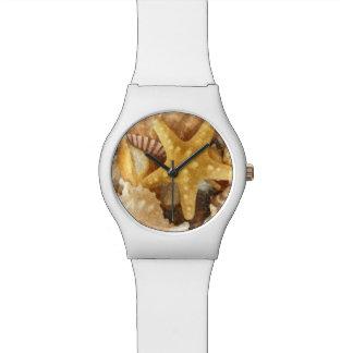 Beach Shells Artsy Wristwatch