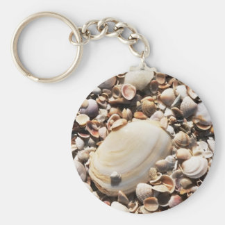 Beach Shells Keychain