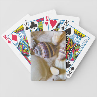 Beach Shells Theme #2 Bicycle Playing Cards