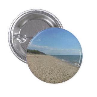 Beach Shore 1 Inch Round Button
