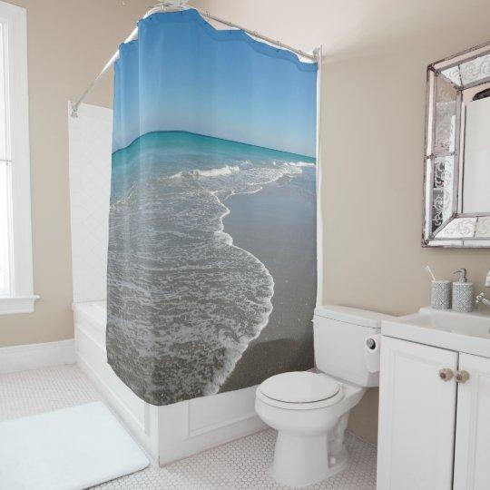 Beach Shower Curtain Ocean II