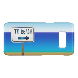 Beach Sign Post Case-Mate Samsung Galaxy S8 Case