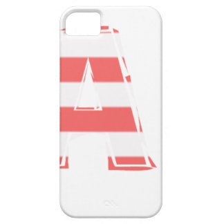Beach Sign - stripes Case For The iPhone 5