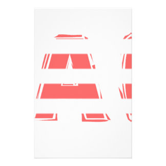 Beach Sign - stripes Stationery