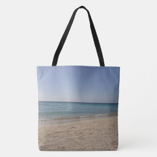 Beach Sky Sandy Tote Bag