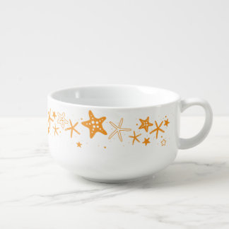 Beach Starfish Soup Mug