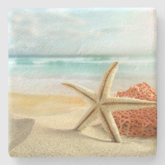 Beach Starfish Stone Coaster