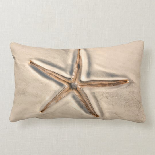 Beach Starfish Throw Pillow
