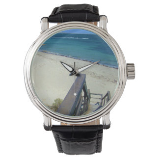 Beach Steps To Golden Sands, Mens Watch