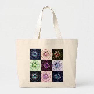 beach stock market wind rose large tote bag