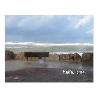 Beach Storm Postcard