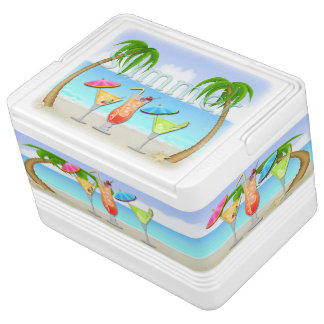Beach Summer Cocktails Igloo 12 Can Cooler