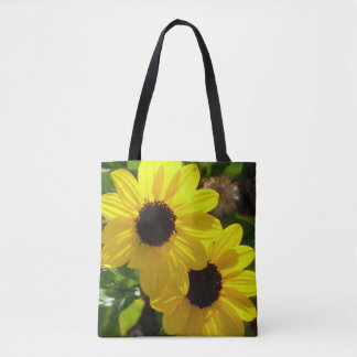 Beach Sunflowers Tote Bag