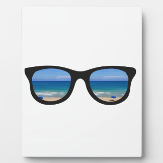 Beach Sunglasses Plaque