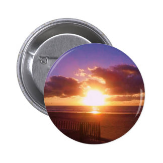 Beach sunrise button