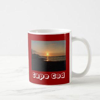 Beach Sunrise Cape Cod Massachusetts Coffee Mug