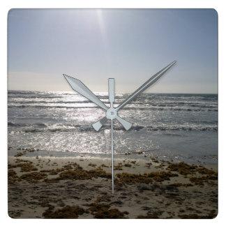 Beach Sunrise Clock