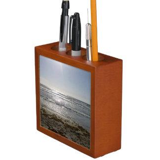 Beach Sunrise Desk Organizer
