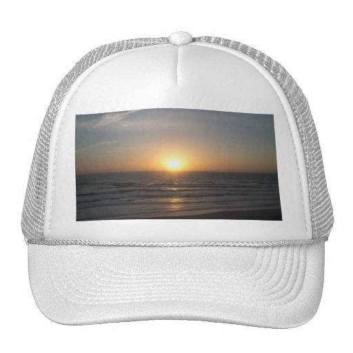 Beach Sunrise Trucker Hats