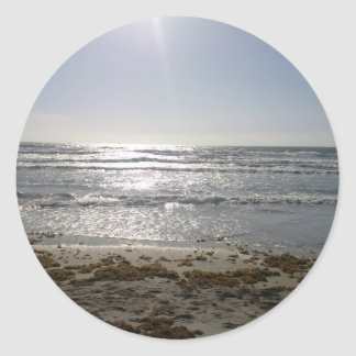 Beach Sunrise Stickers