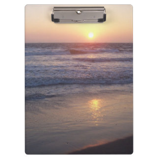 Beach Sunset Clipboard