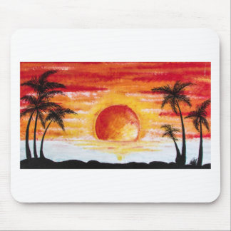 Beach Sunset Custom Personalize DIY Project Home Mouse Pad