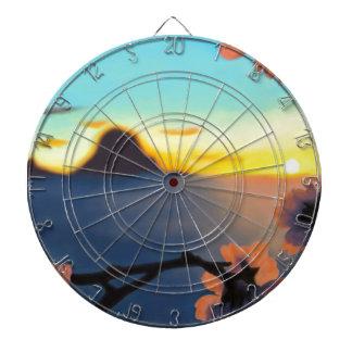 Beach Sunset Dartboard