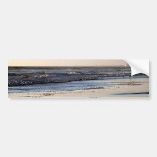 Beach Sunset Ormond Beach Bumper Sticker
