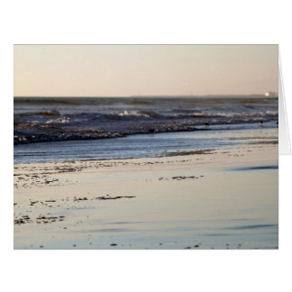 Beach Sunset Ormond Beach Card
