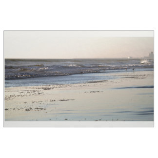 Beach Sunset Ormond Beach Fabric