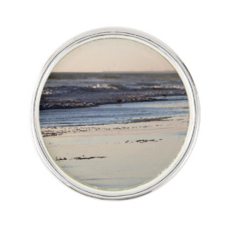 Beach Sunset Ormond Beach Lapel Pin
