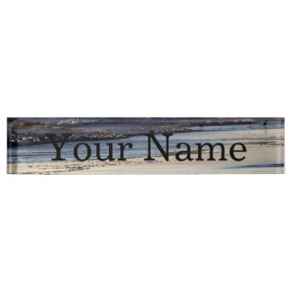 Beach Sunset Ormond Beach Nameplate