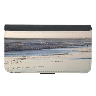 Beach Sunset Ormond Beach Samsung Galaxy S5 Wallet Case