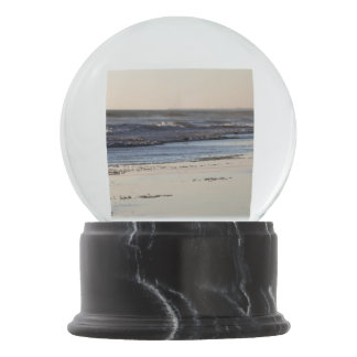 Beach Sunset Ormond Beach Snow Globe