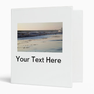 Beach Sunset Ormond Beach Vinyl Binders